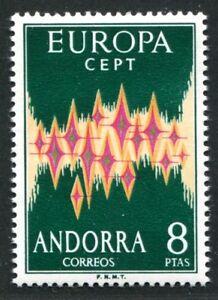 SPANISCH-ANDORRA-1972-71-POSTFRISCH-TADELLOS-EUROPA-60-I1969