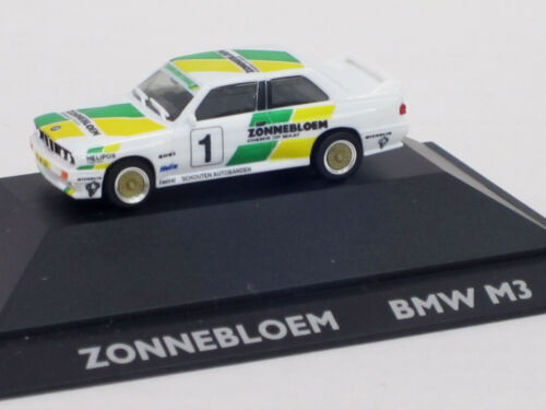 Start-Nr 1:87 1 De Kleine Autominiaturen Zonnebloem OVP BMW M3 4-Sitzer