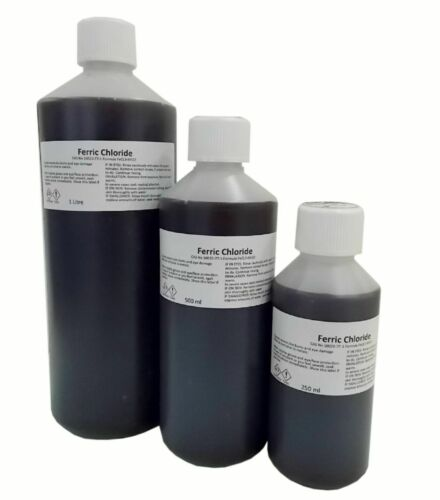 FREE Shipping Ferric Chloride Solution 40/% Working Strength for PCB Etching