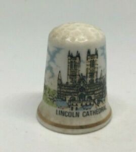 Collectable-Thimble-LINCOLN-CATHEDRAL-AA144