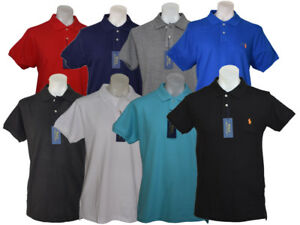 New-with-tags-Ralph-Lauren-polo-men-039-s-T-shirt-collar-neck