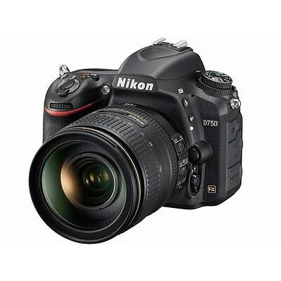 Nikon D750 DSLR Camera + 24-120mm F4G ED VR Lens Kit  Japan Version New