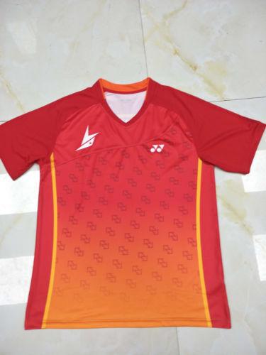 Hot Lin Dan World Championships men/'s Clothes Tops tennis//badminton T shirts