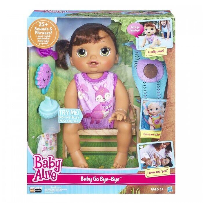bambino Alive Bambola bambino Alive bambino  GO BYE BYE (BcorrereETTA) parla inglese e spagnolo  prodotto di qualità