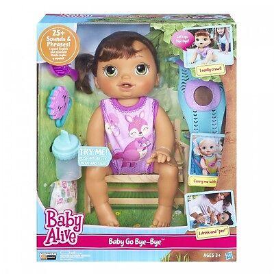 Baby Alive Doll Baby Alive Baby Go Bye Bye Brunette