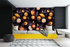 3D Fruit Pumpkin ZHUA248 Wallpaper Wall Mural Self-adhesive Uta Naumann Amy
