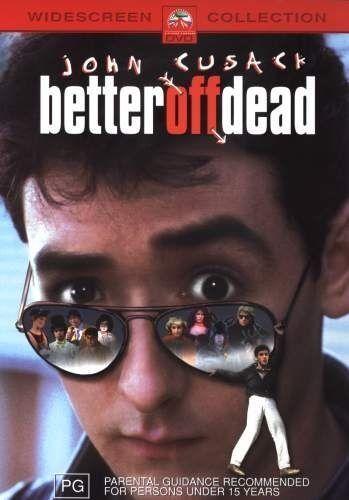 Better Off Dead (DVD) Region 4 Australia John Cusack Rare & OOP Like New!