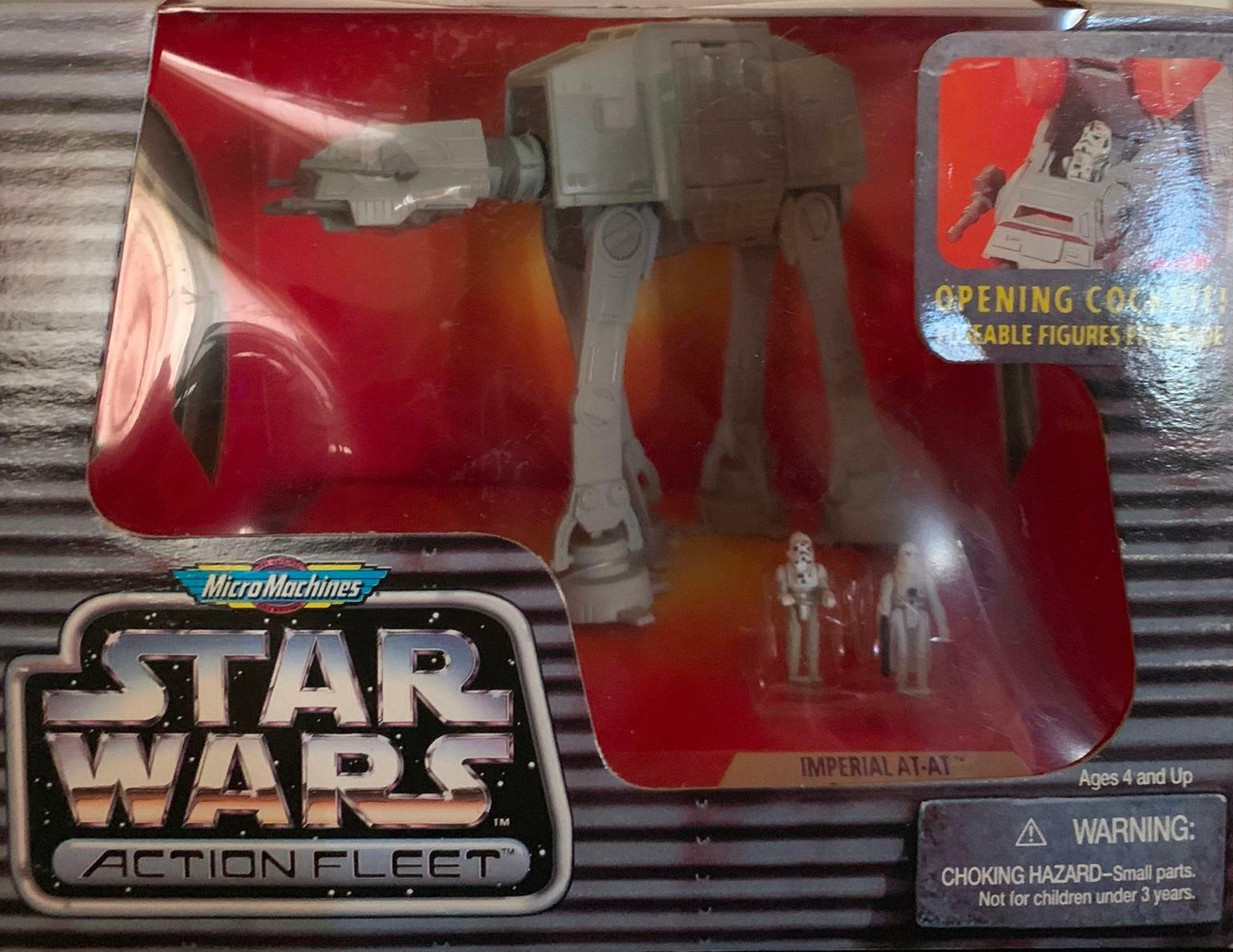 NIB   Star Wars Action Fleet Imperial AT-AT w Imperial Driver & Snowtrooper