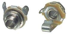 Neutrik NYS229 connector 6.3mm mono jack chassis socket (Open jack, 2-pole)