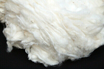 200g Fine quality Pure  Cotton  Fiber Waste for Spinning Felting