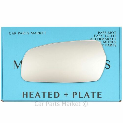 Left Side Flat Wing Door Mirror Glass for KIA MAGENTIS 2006-2010 Heated plate