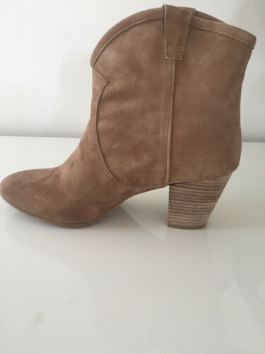 Beige Bottines  pointure Daim En 39 00q8BxEO