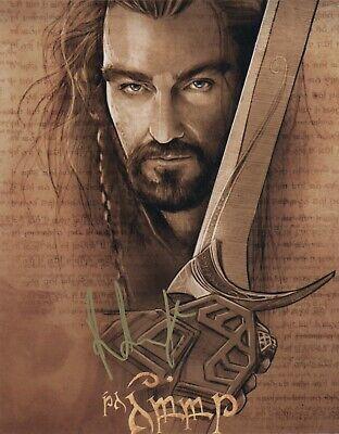 Adroit Richard Armitage Hobbit Autographed Signed 8x10 Photo Coa #mr276 Movies Photographs