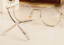 Vintage-Literary-TR90-Metal-Retro-eyeglass-frame-Round-Clear-Glasses-Women-Men thumbnail 12