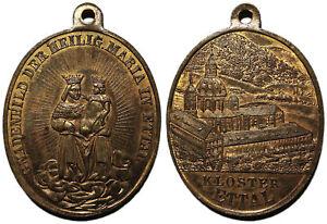 medaille-034-Gnadenbild-Der-Heilig-Maria-In-Ettal-Kloster-Ettal-034-XIX-JH