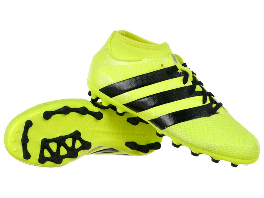 Kids adidas ACE 16.3 Primemesh AG Junior Football Trainers Artificial Grass