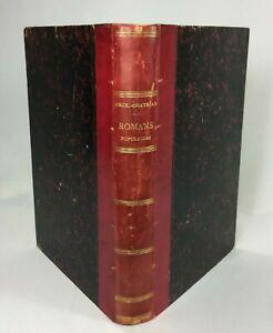 LIVRE-CONTES-ET-ROMANS-POPULAIRES-DE-ERCKMANN-CHATRIAN-SCHULER-HETZEL-1867-H254