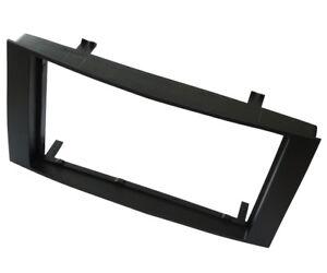 Adaptateur-autoradio-facade-cadre-reducteur-noir-2DIN-pour-Vw-Touareg-Transporte