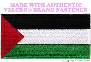 PALESTINE Drapeau Brodé Patch musulman de l'Olp Emblème avec velcro ® marque Fastener