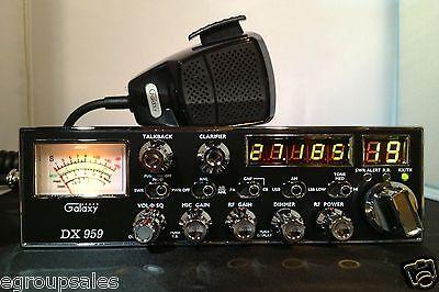 Galaxy DX-959 CB Radio - Stock aradio - Upgrades Available