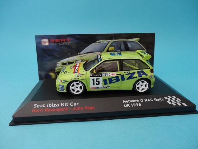 SEAT IBIZA KIT CAR CAR CAR - ROVANPERA - RALLY RAC NETWORK Q 1996 - 1 43 NEW IXO ALTAYA 2f5fb1