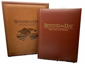 Memorial-Keepsake-Book-with-Box-Beyond-This-Day-The-Way-of-Hope-Remembrance-NEW