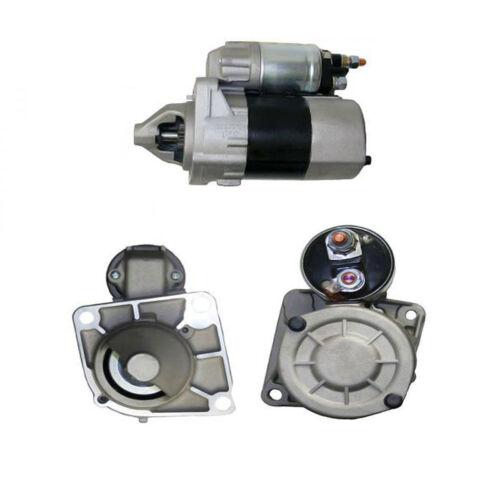 10337UK AC Starter Motor 2005-On 199 Fits FIAT Grande Punto 1.2
