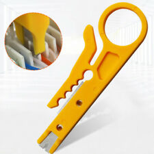 Multi Functional Wire Stripping Tool For Telephone Line Network Cable And Cacaqa