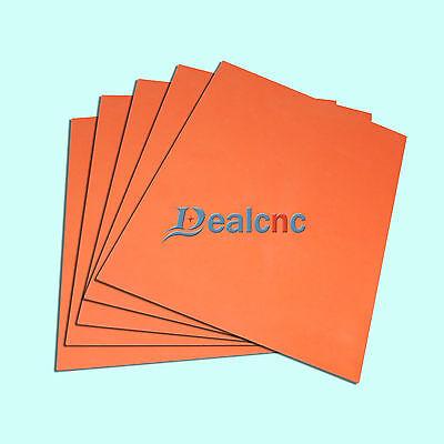 One Sheet Laser Orange Rubber 1.5mm for Laser Engraver Embossing Stamping Stamp