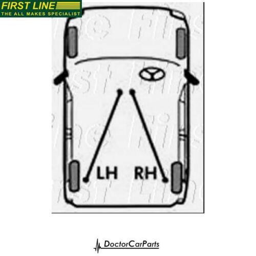 Brake Cable Handbrake Left//Rear for KIA CERATO 1.6 04-04 CHOICE2//2 G4ED LD FL
