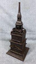 Antique John Harper Cast Iron Tower Bank c. 1902-1911