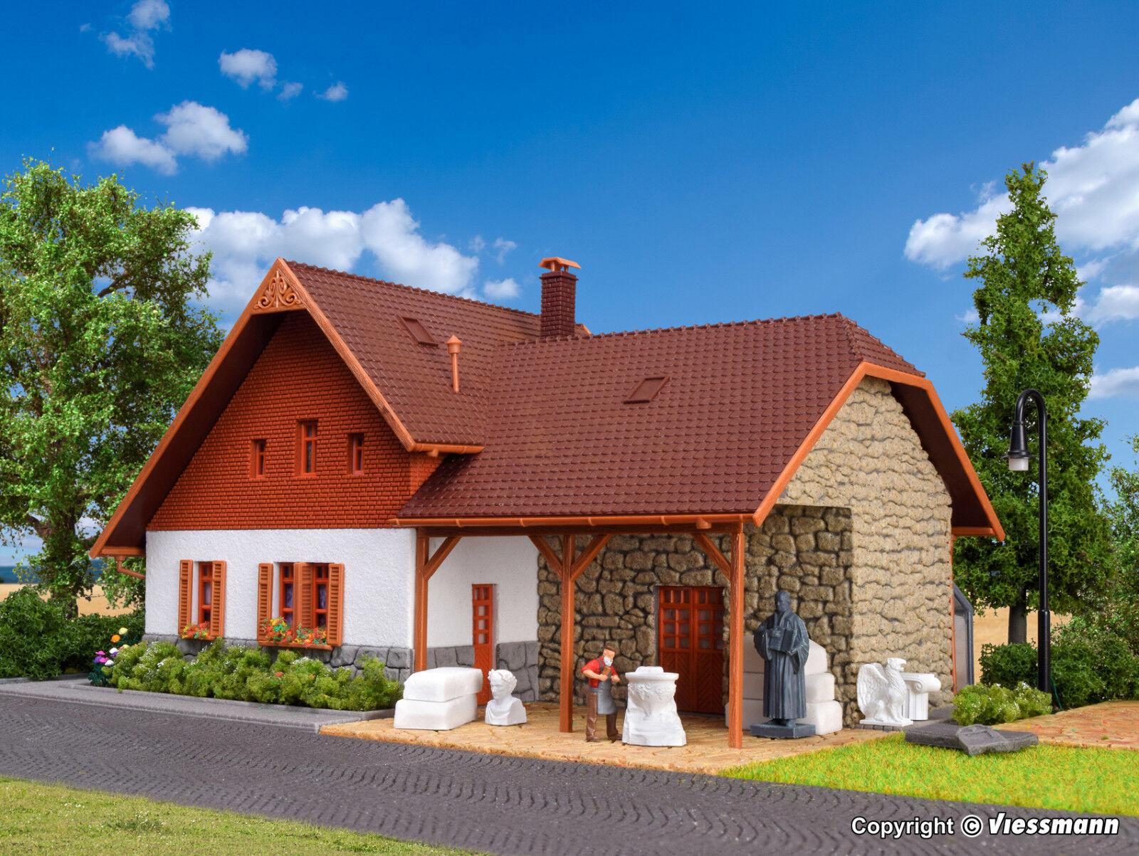 VOLLMER h0 48280-Stein Metz casa con illuminazione LED, funzione KIT PRODOTTO NUOVO
