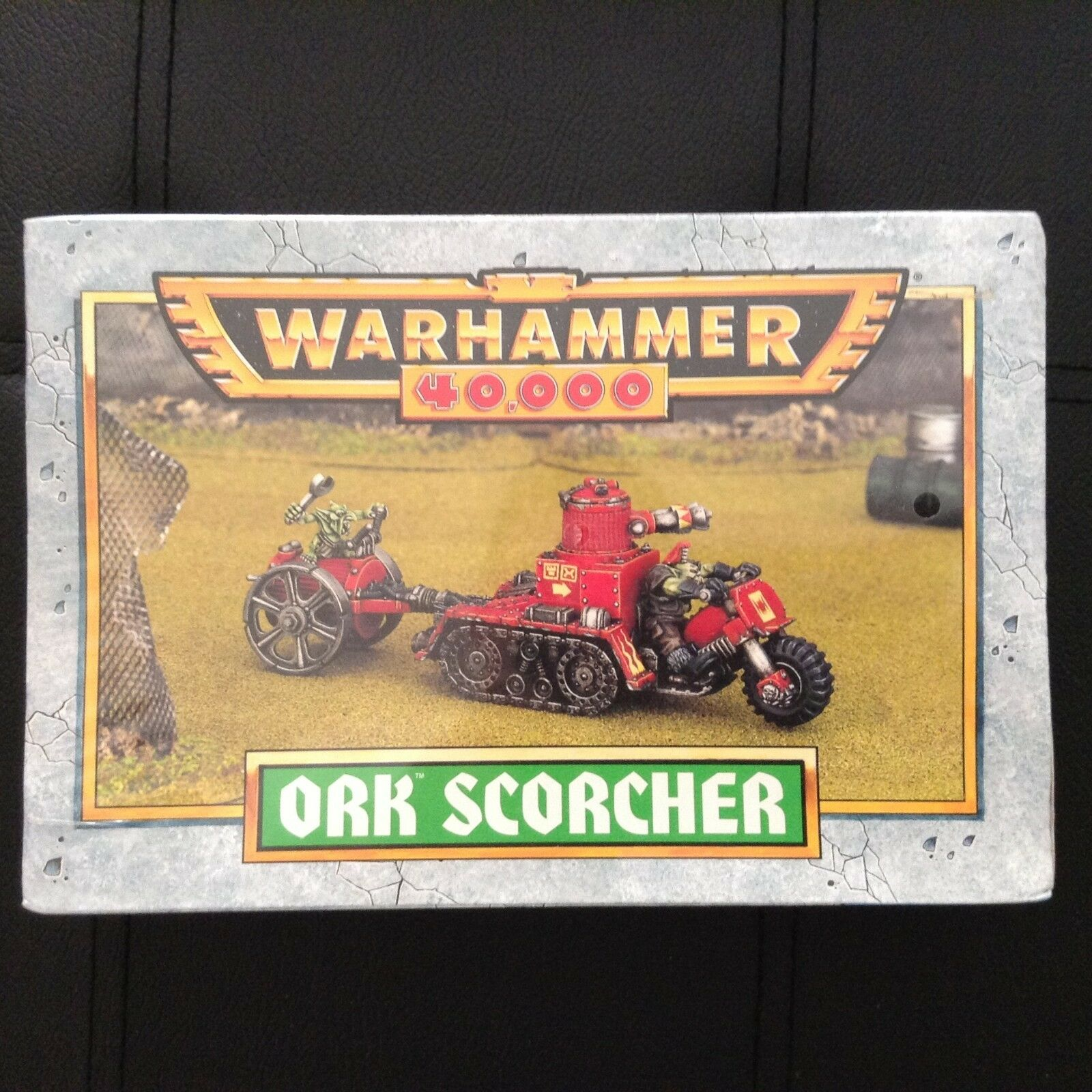 GAMES WORKSHOP, WARHAMMER 40K, ORK SCORCHER  Out of print