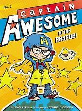 Captain Awesome to the Rescue!-ExLibrary