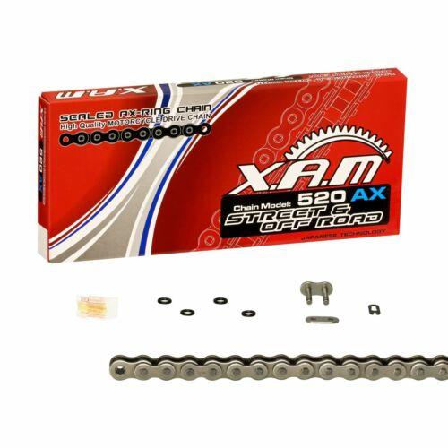 Honda XL 125 V Varadero JC32 01-10 Kettenkit XAM EXTRA verstärkt Clipschloss
