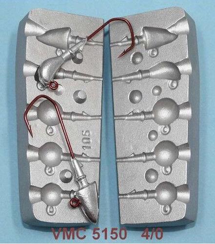 Cast Aluminum Sinker Mold Saltwater  Jigs