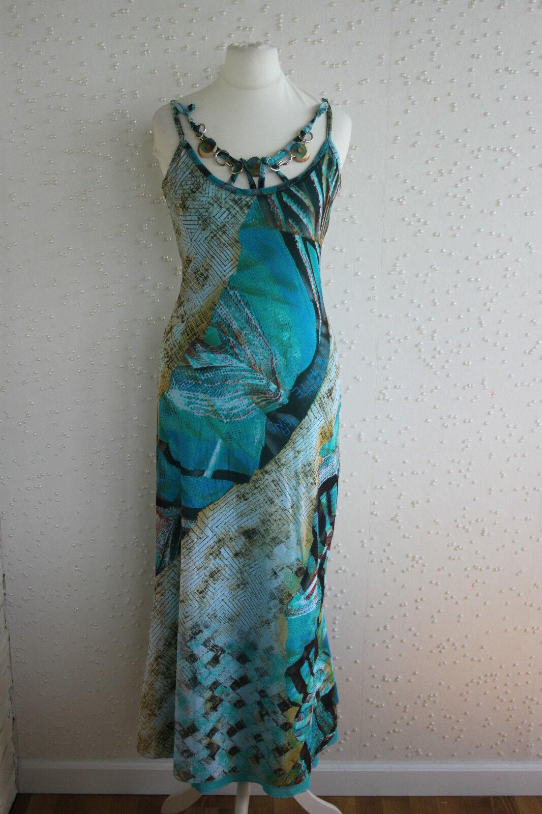 Designer Kleid Trägerkleid von Le Gatte Jeans aus Italien, Gr. S   36 (38), neu
