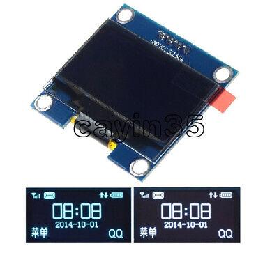 "White//Blue 1.3/"" OLED LCD Display Module IIC I2C Interface 3.3-5V For Arduino UK"