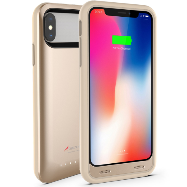 sports shoes e68d0 51870 Alpatronix iPhone X / XS 4000mah Battery Charging Case External Charger  Cover
