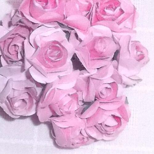 VINTAGE style Parchment medium PINK roses pickbunch DOLLS Alexander /& Ginny