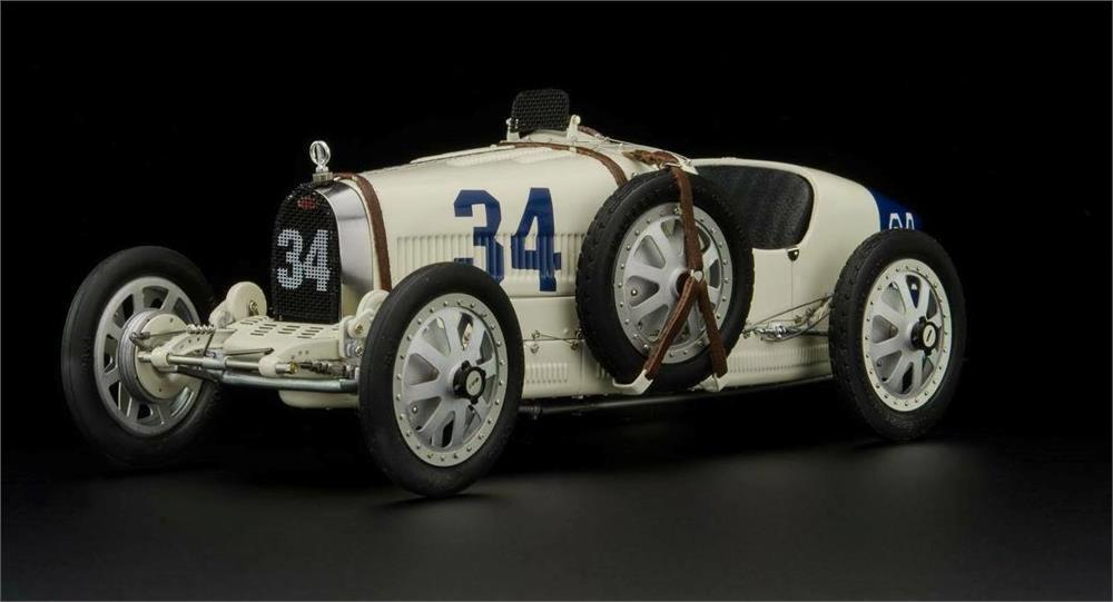 1924 Bugatti T35 USA Diecast Model Car by CMC in 1:18 Scale