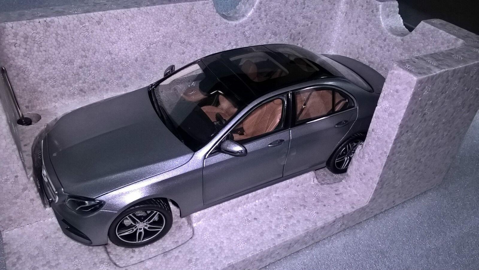 Mercedes Benz W 213 Clase E Sedán AMG Line Selenita-gris 1 18 Nuevo Ovp