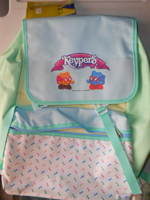 Vintage Satchel Tonka Keypers Zaino SECRET SAFE School BAG