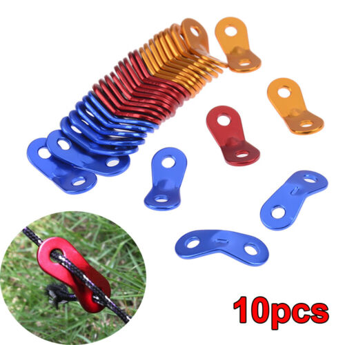 Awning Aluminum Alloy Tightener Adjuster Tent Rope Fastener Anti-Wind Buckle