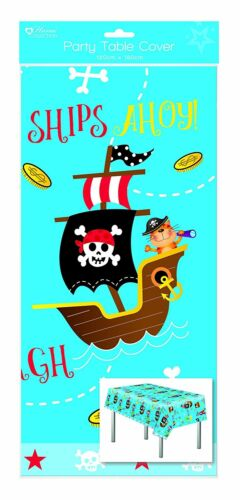 pencils Pirate Party Tableware banner decorations balloons