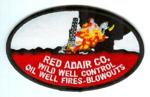 Red-Adair-Company-Wild-Well-Control-Oil-Well-Fires-Blowouts-Patch-Texas-TX
