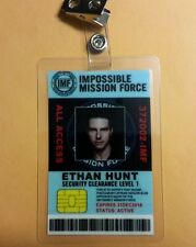 Mission Impossible  ID Badge - Ethan Hunt  prop costume cosplay