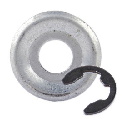 Clip Size: approx Chainsaw Sprocket Washer 0000 958 1022 /& E-Clip 9460 624 0801 fit for Stihl 026 MS260 024 MS240 Washer Size: approx.2.7x0.9cm OD x ID 0.6x0.4inch 1.1x0.4inch 1.4x1.1 D x W