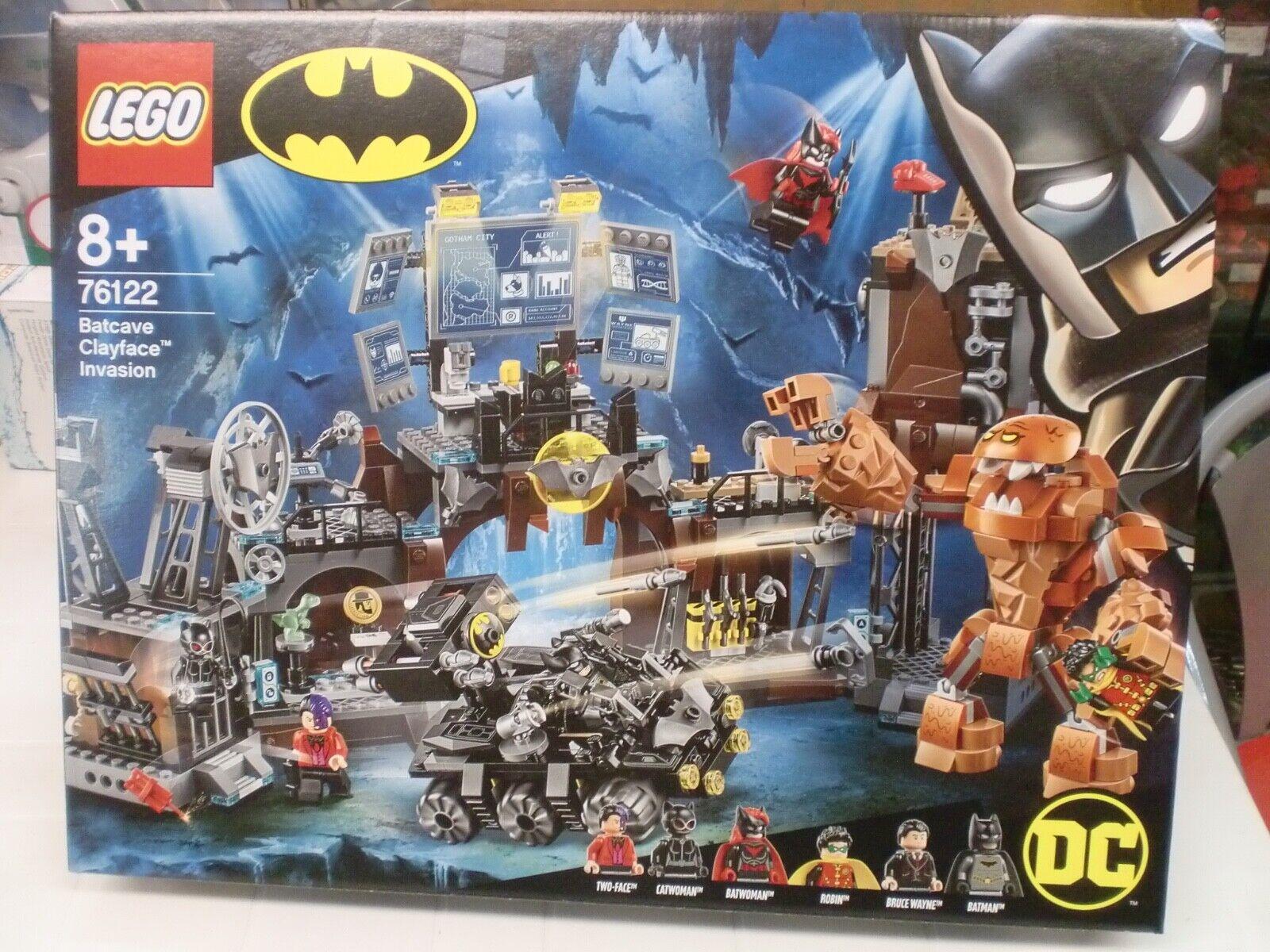 LEGO 76122 - BATCAVE CLAYFACE INVASION - serie BATMAN