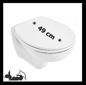 ellobo compact wand wc tiefsp ler ausladung v b wand wc 49 cm kurz ebay. Black Bedroom Furniture Sets. Home Design Ideas